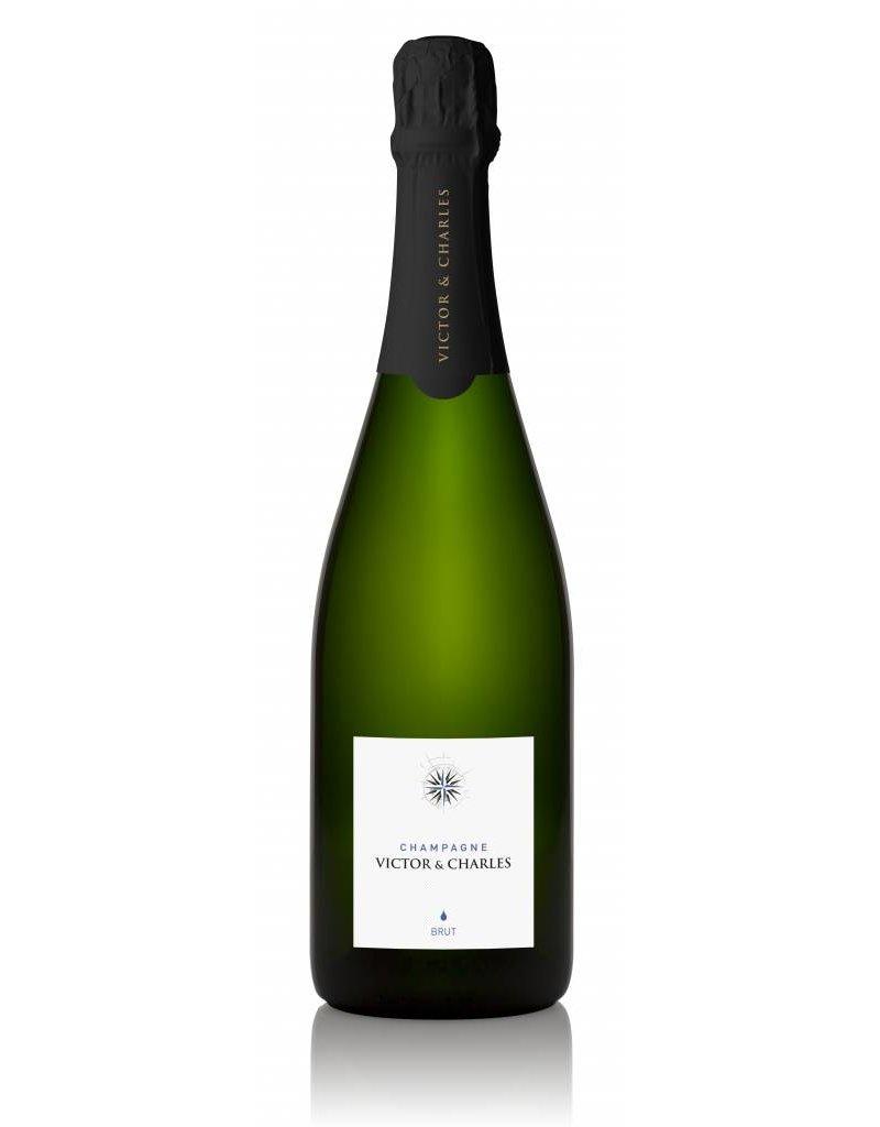 Victor + Charles Le Brut Champagne