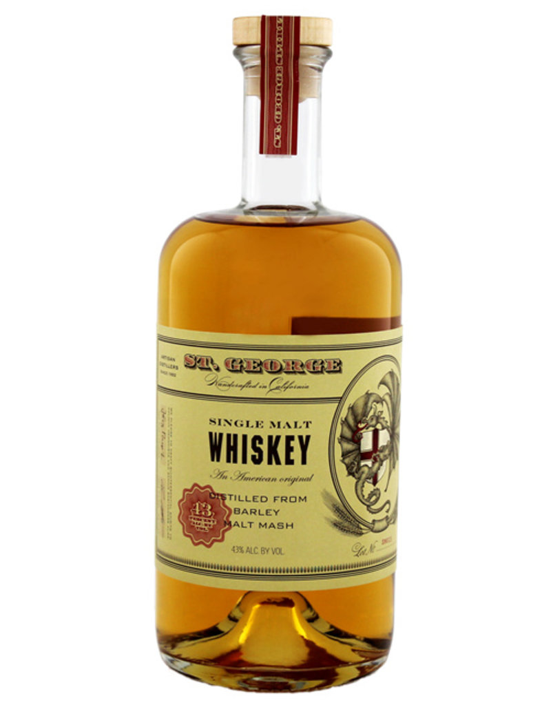 St. George Single Malt Whiskey 0,75L -US-