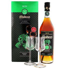 Malteco 15 Jahre Rum + 2 Gläser