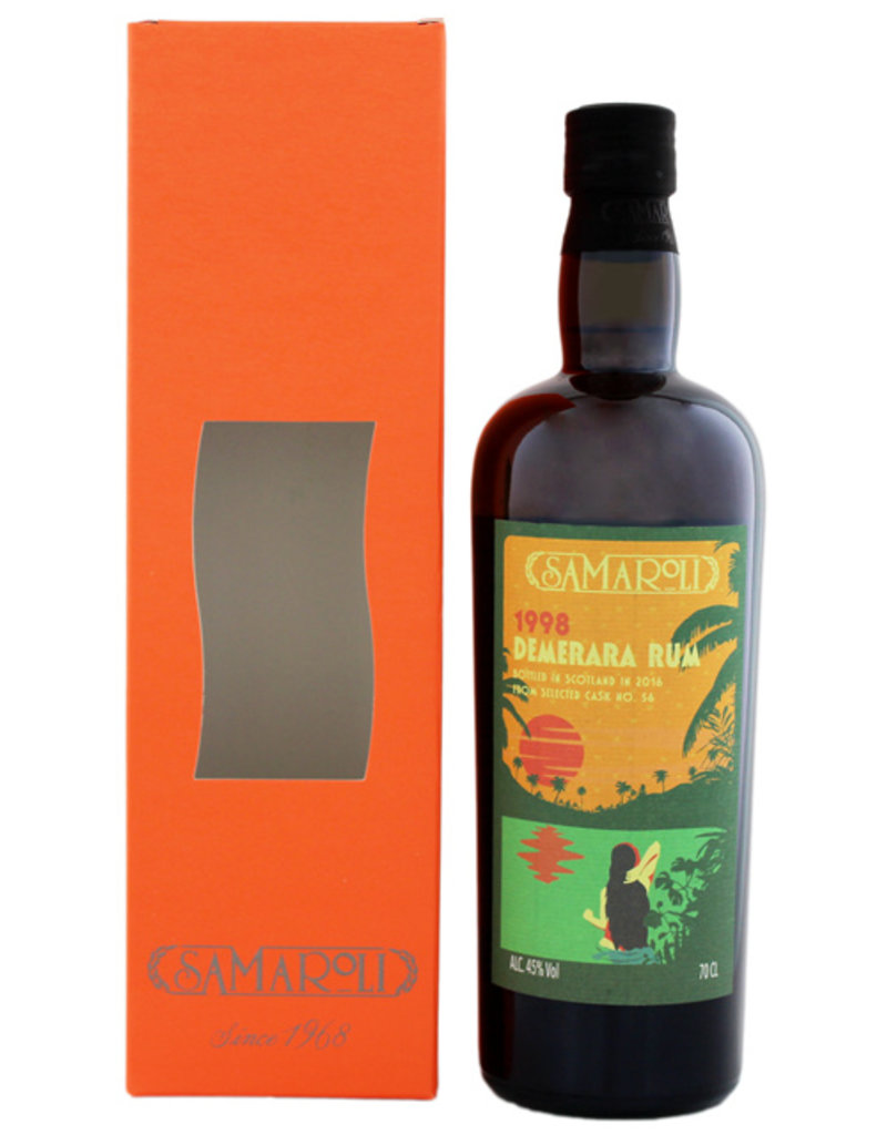 Samaroli Demerara Rum 1998/2016 0,7L -GB-