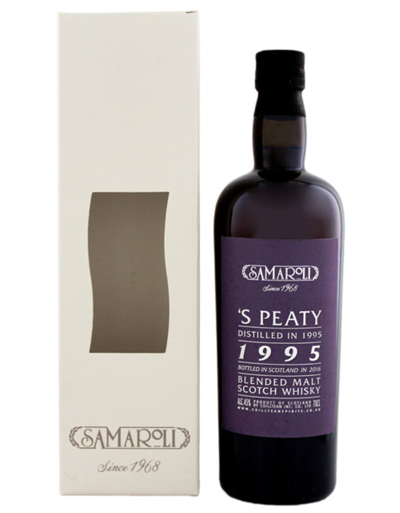Samaroli 'S Peaty 1995/2016 Blended Malt Scotch Whisky 0,7L -GB-