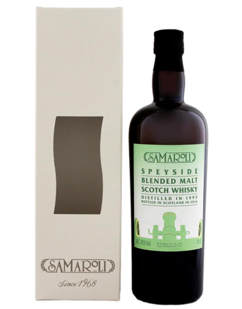 Samaroli Speyside 1995/2016 Blended Malt Scotch Whisky 0,7L -GB-