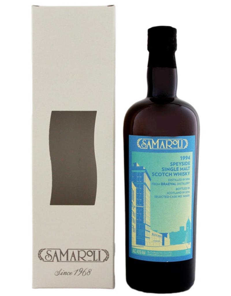 Samaroli Braeval 1994/2016 Speyside Single Malt Scotch Whisky 0,7L -GB-
