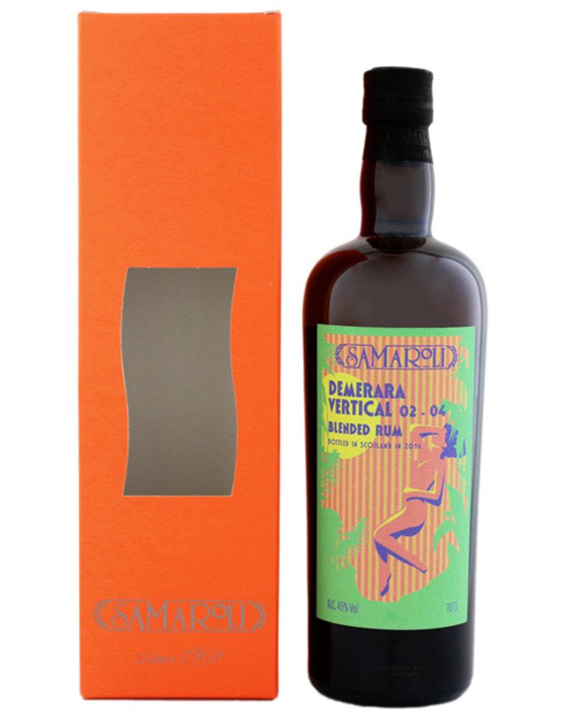 Samaroli Demerara Vertical Blended Rum 02-04 (2016) 0,7L -GB-