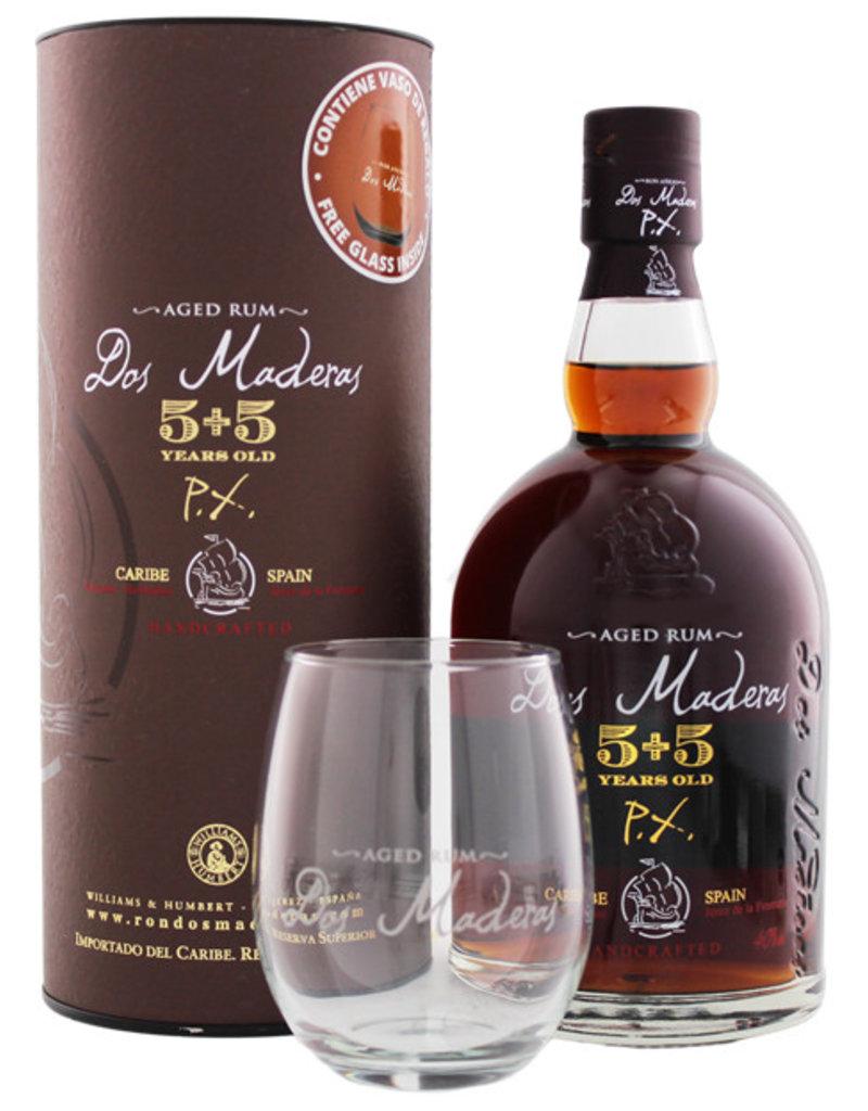 Dos Maderas PX 5YO + 5YO 0,7L + Glas -GB-