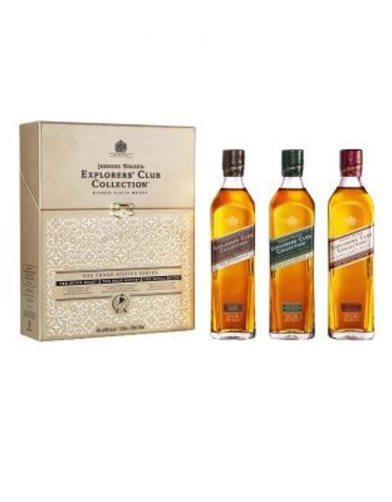 Johnnie Walker Explorers' Club Collection 3x0,2L -GB-