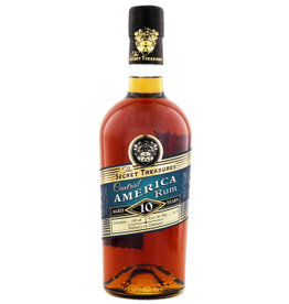 The Secret Treasures The Secret Treasures Central America Rum 10YO 0,7L