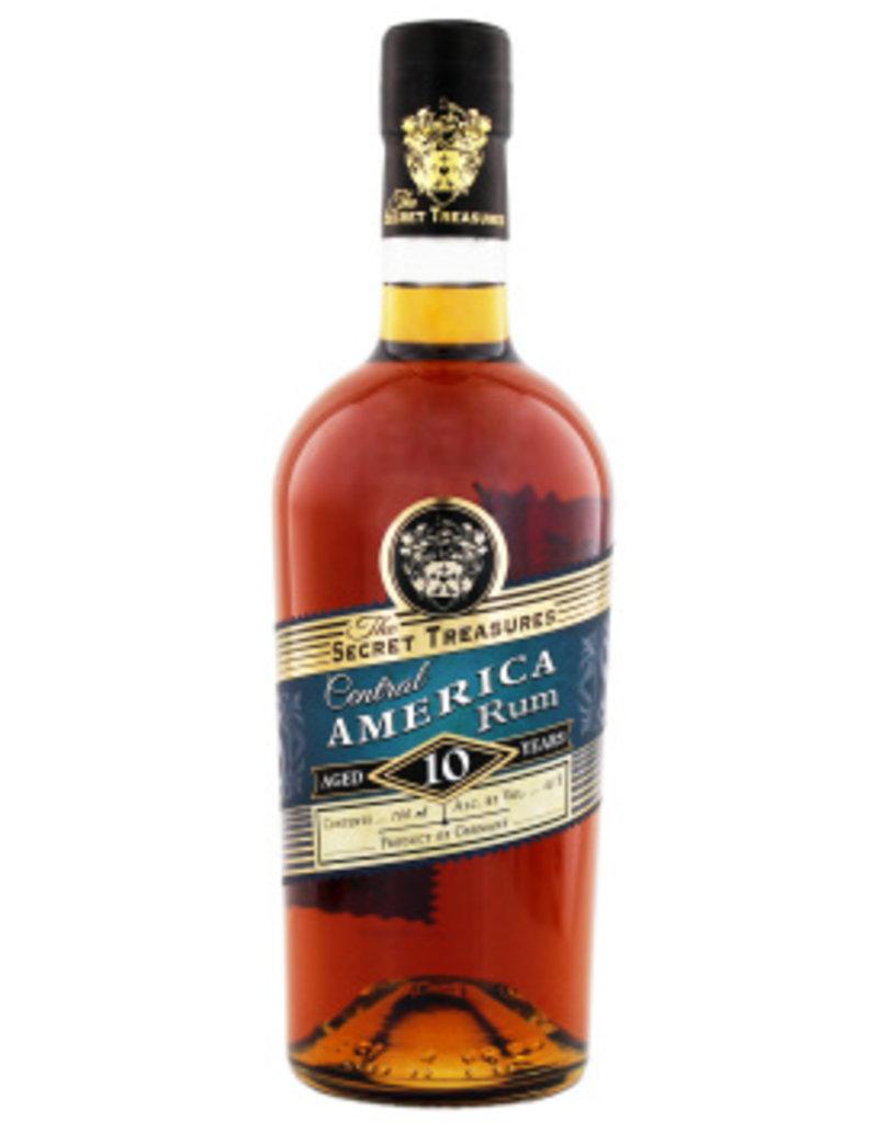 The Secret Treasures The Secret Treasures Central America Rum 10YO 0,7L