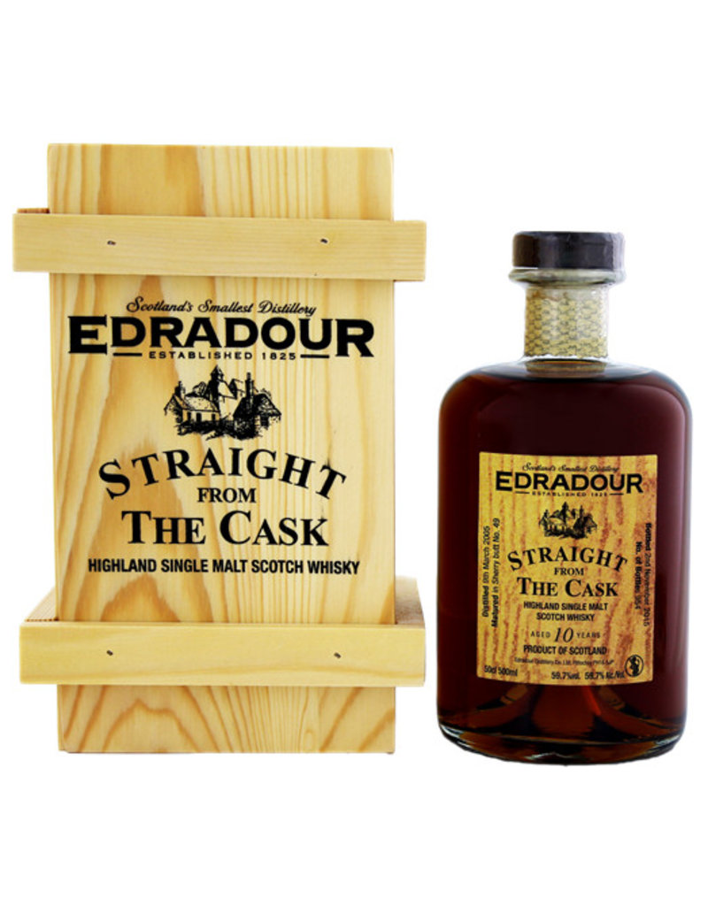 Edradour Edradour 10YO Straight from the Cask Sherry 2005/2015 0,5L -GB-