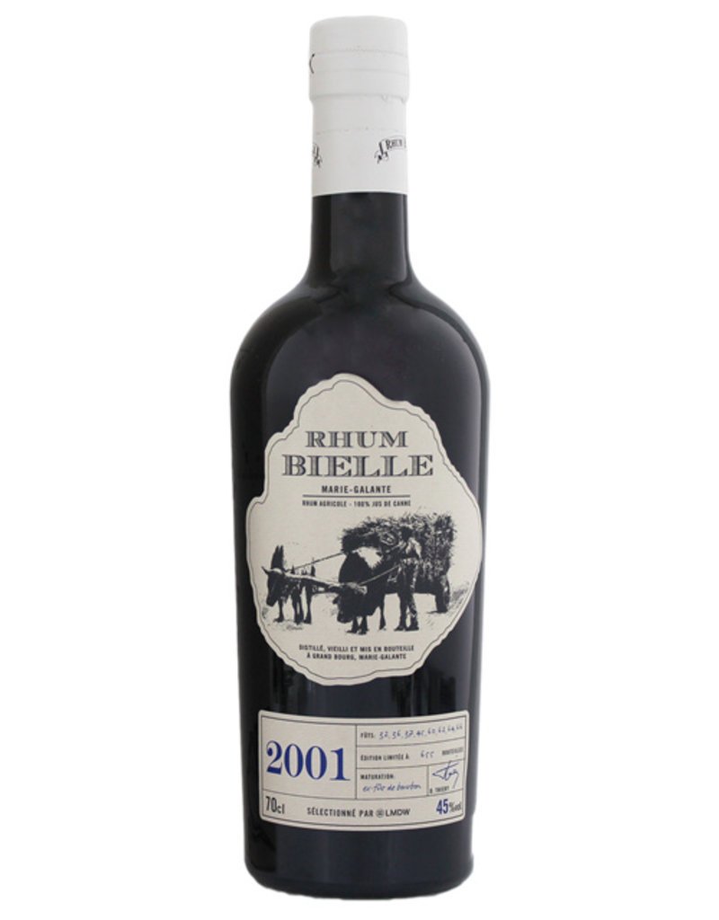 Bielle Bielle Vintage 2001 Small Batch Limited Edition rum 0,7L -GB-