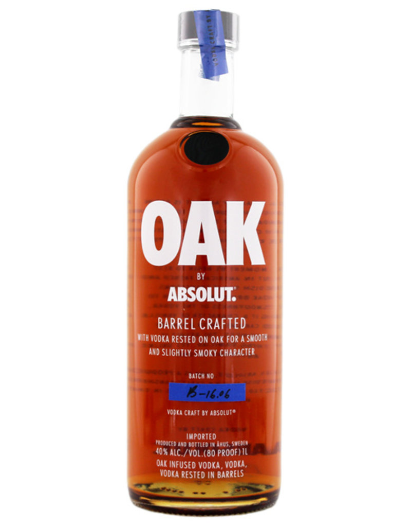 Absolut Absolut Vodka Oak 1,0L