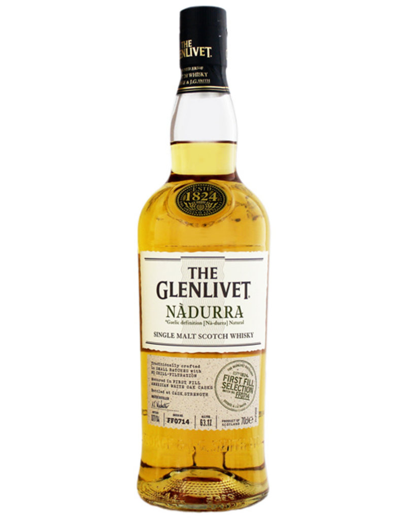 Glenlivet The Glenlivet Nadurra First Fill White American Oak 0,7L -GB-