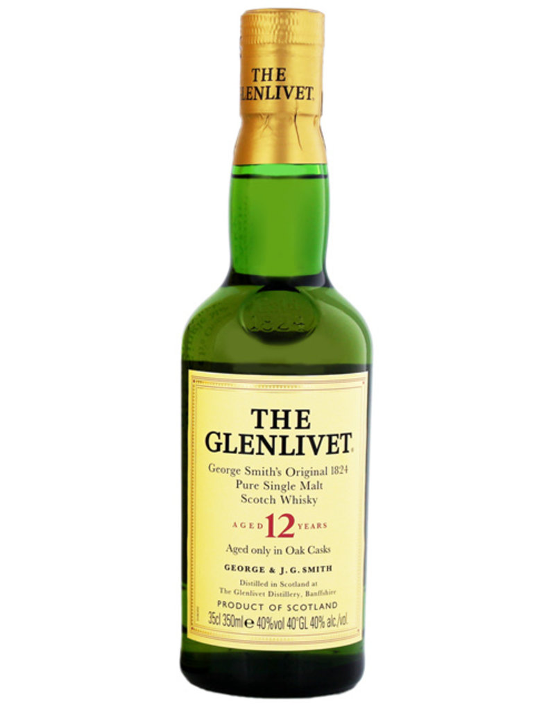 The Glenlivet 12YO Malt Whisky 0,35L -GB-