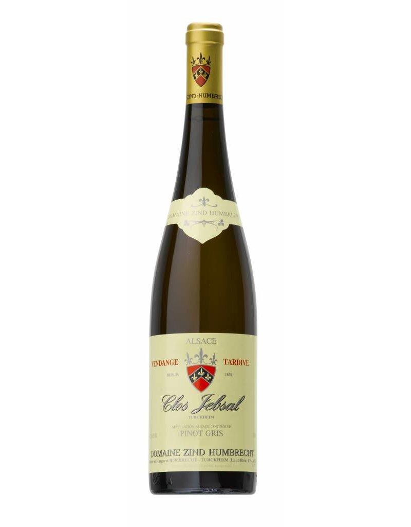 Zind Humbrecht 2015 Zind Humbrecht Clos Jebsal Vendage Tardive Pinot Gris