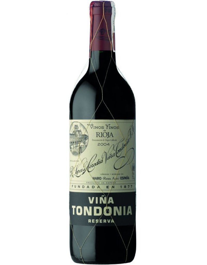 2004 Bodegas Lopéz de Heredia Vina Tondonia Tinto Reserva