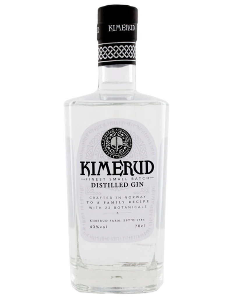 Kimerud Norway Craft Distilled Gin 0,7L