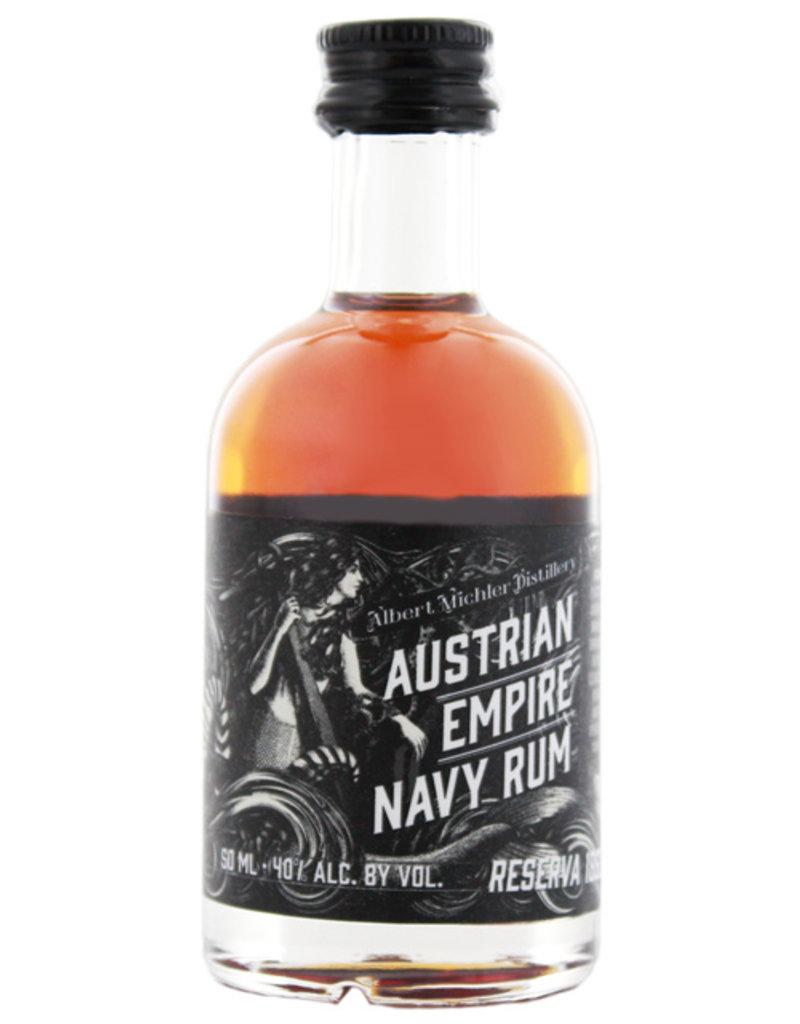 Austrian Empire Navy Rum Reserve 1863 Miniatures 0,05L