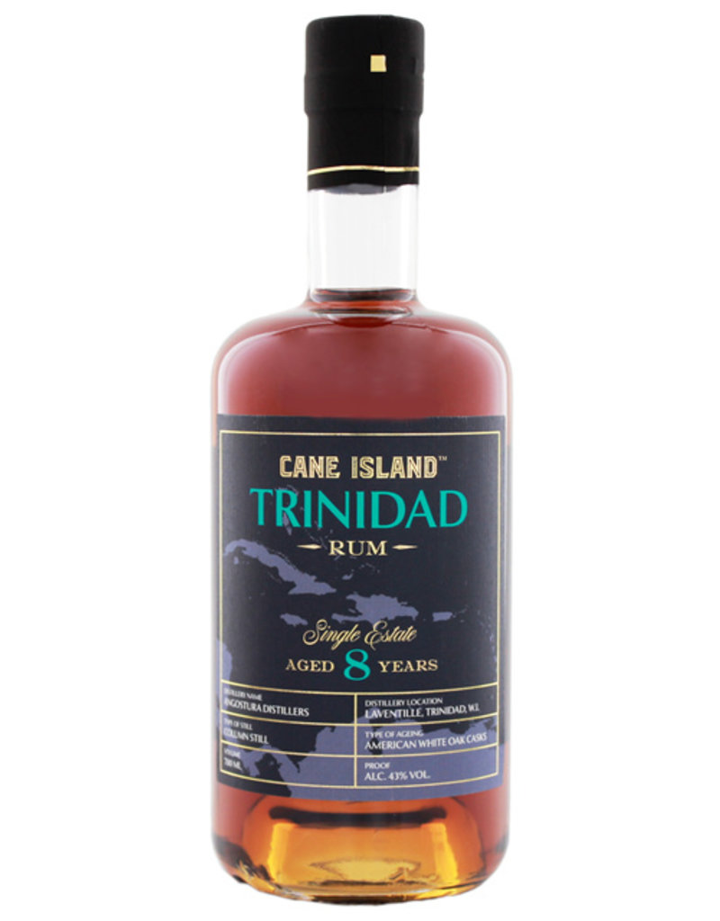 Cane Island Trinidad Single Estate Rum 8YO 0,7L