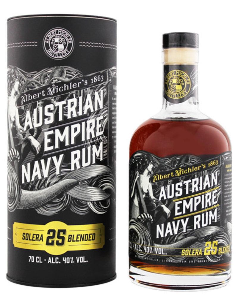 Austrian Empire Navy Rum Solera 25YO 0,7L Gift Box