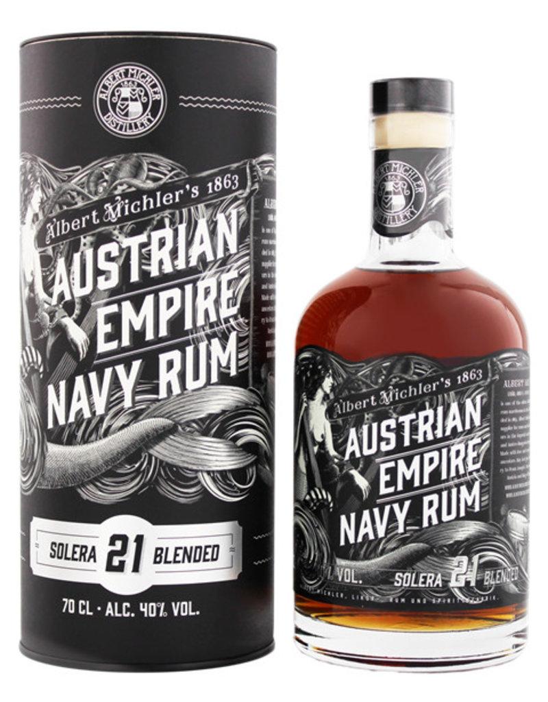 Austrian Empire Navy Rum Solera 21YO 0,7L Gift Box