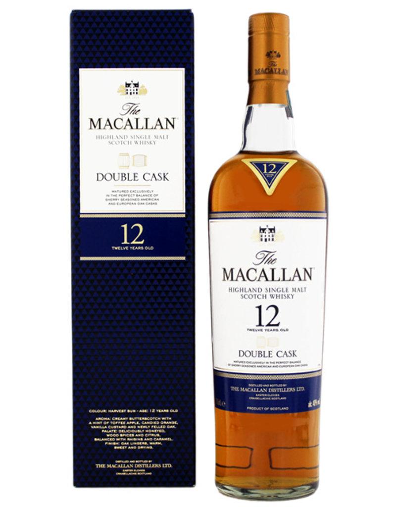 Macallan Macallan Double Cask 12YO 0,7L Gift Box