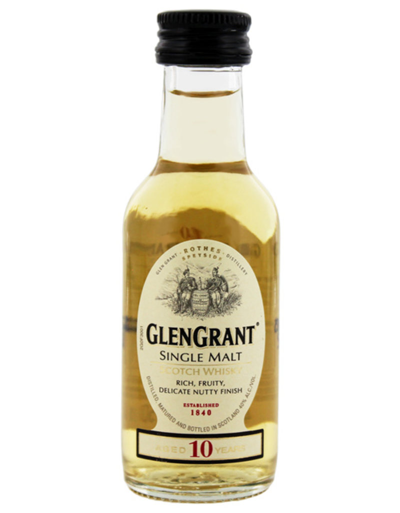 Glen Grant 10YO Malt Whisky Miniatures 0,05L