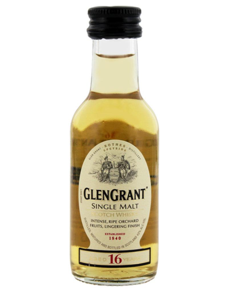 Glen Grant 16YO Malt Whisky Miniatures 0,05L