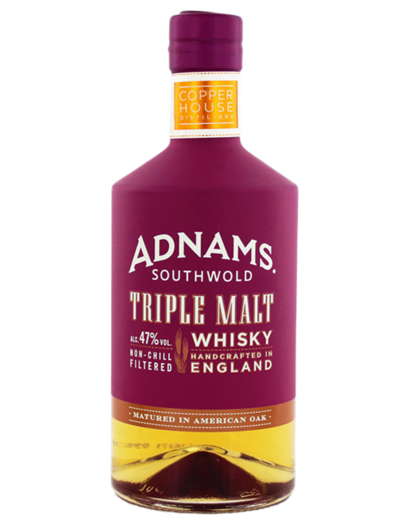Adnams Triple Malt Whisky Non Chill Filtered 0,7L
