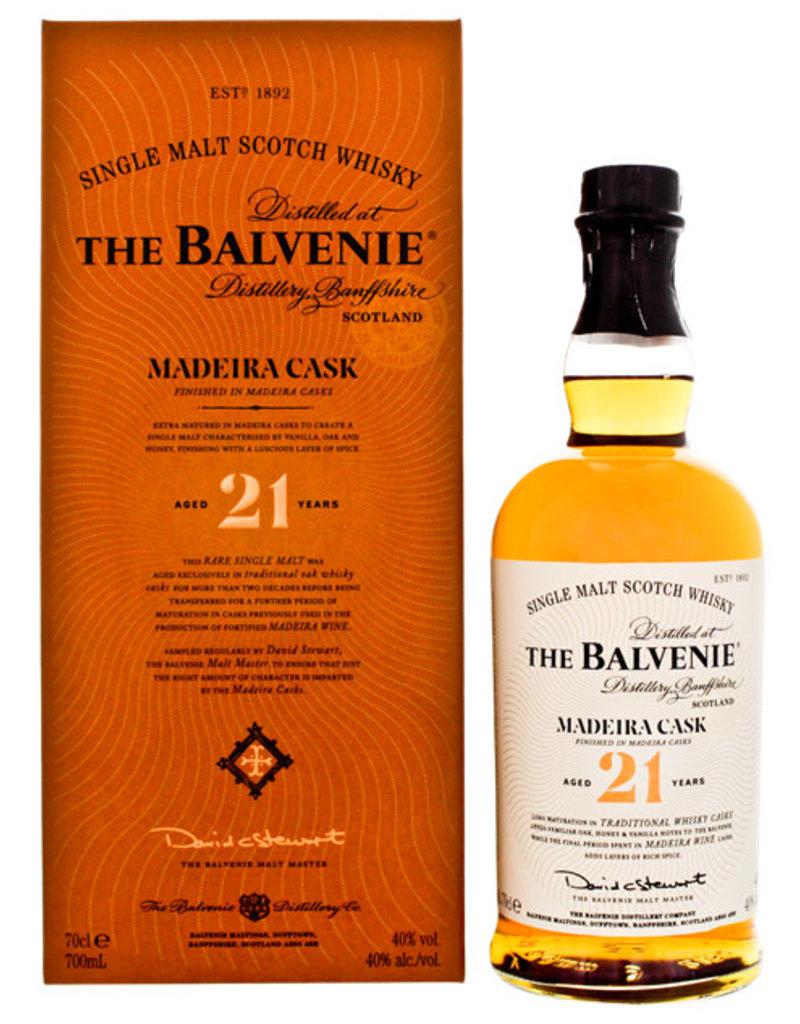 Balvenie 21YO Madeira Cask Malt Whisky 0,7L Gift Box