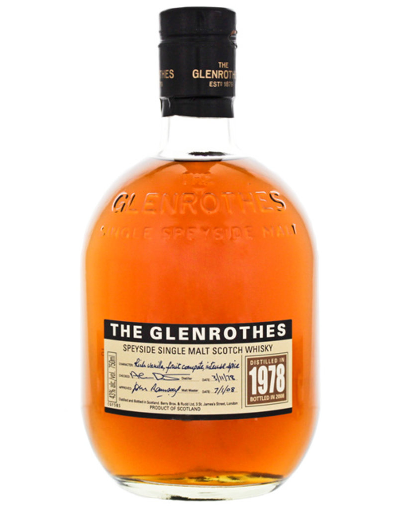 Glenrothes The Glenrothes 1978/2008 0,75L