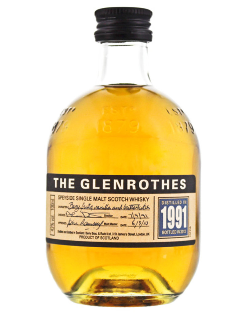 Glenrothes The Glenrothes 1991 0,1L