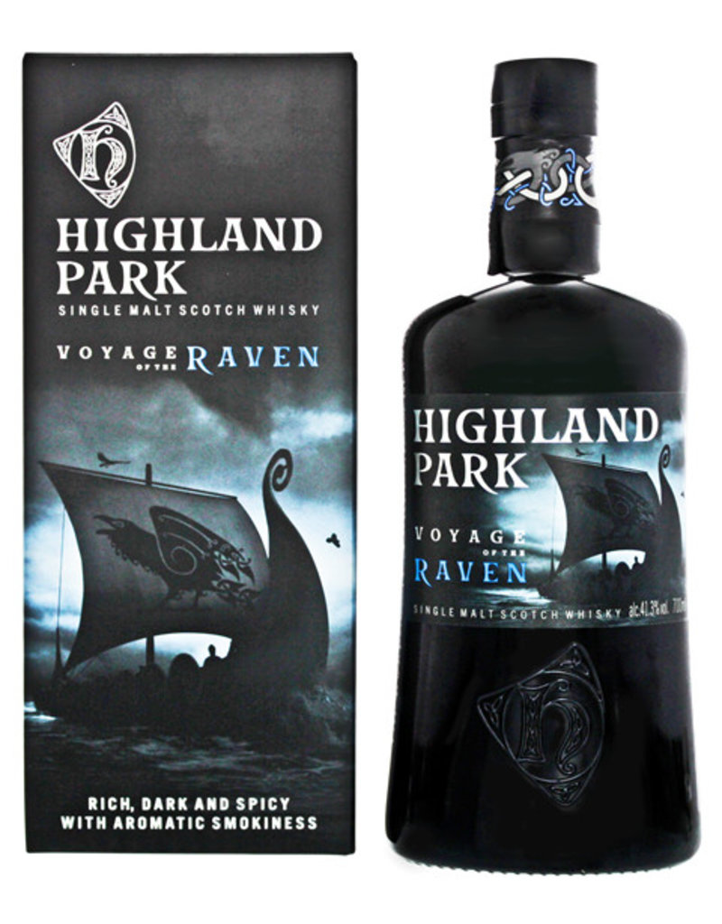 Highland Park Highland Park Voyage of the Raven 0,7L Gift Box