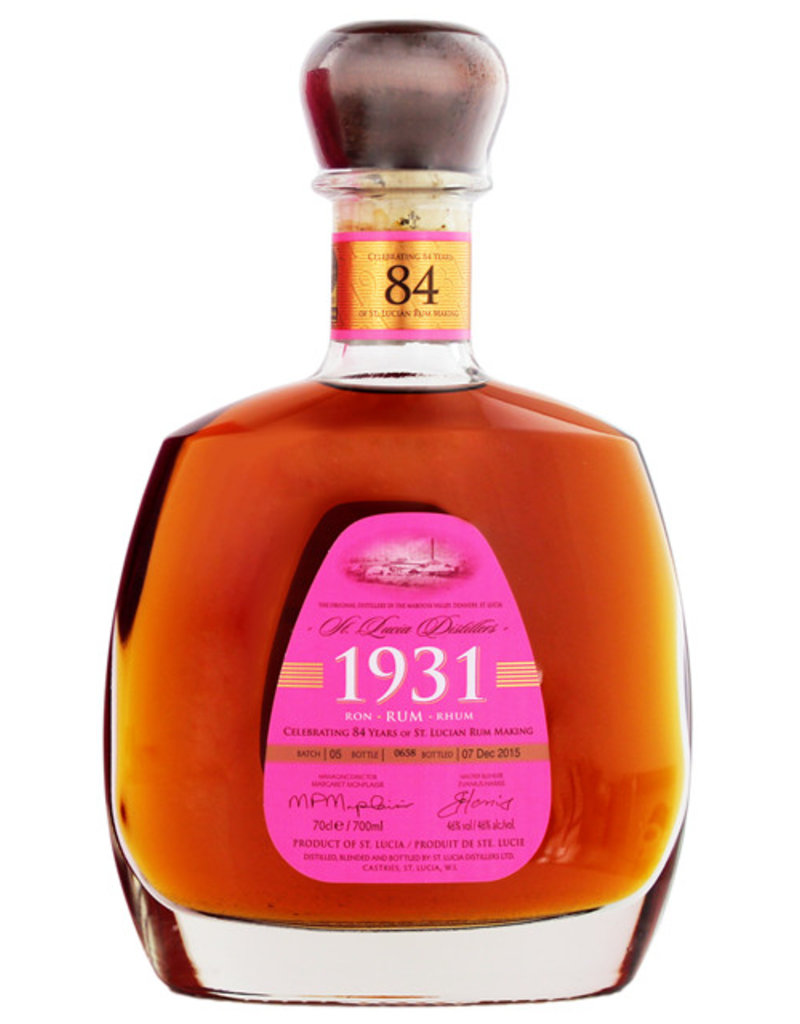 St Lucia 1931 Rum 0,7L Gift Box Fifth Edition