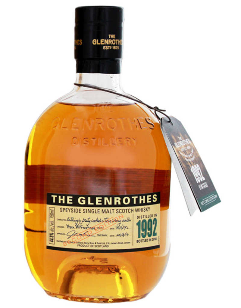 Glenrothes The Glenrothes 1992/2014 Second Edition 0,75L Gift Box / -US-