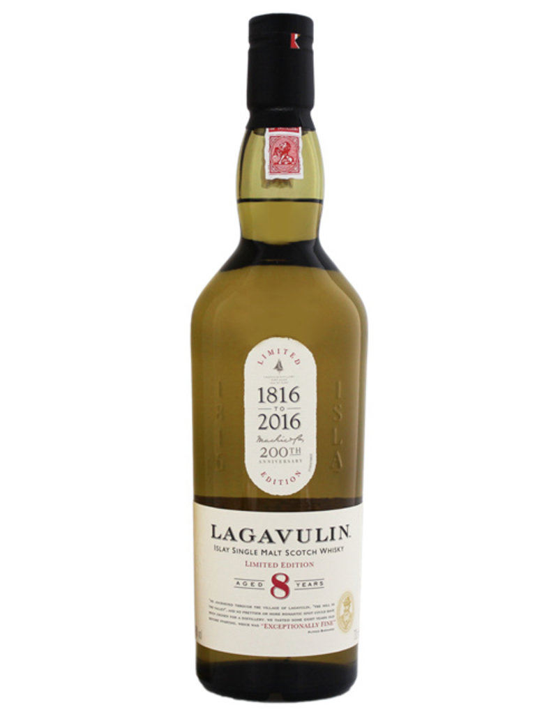 Lagavulin 8YO 200th Anniversary Edition 0,7L Gift Box