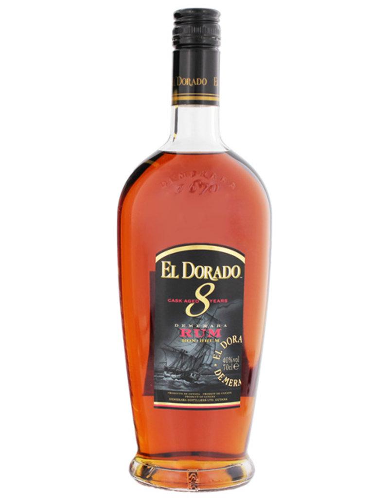 El Dorado Rum 8YO 0,7L -GB-