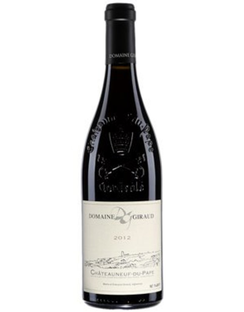 Domaine Giraud 2014 Domaine Giraud Chateauneuf du Pape Grenache Blend