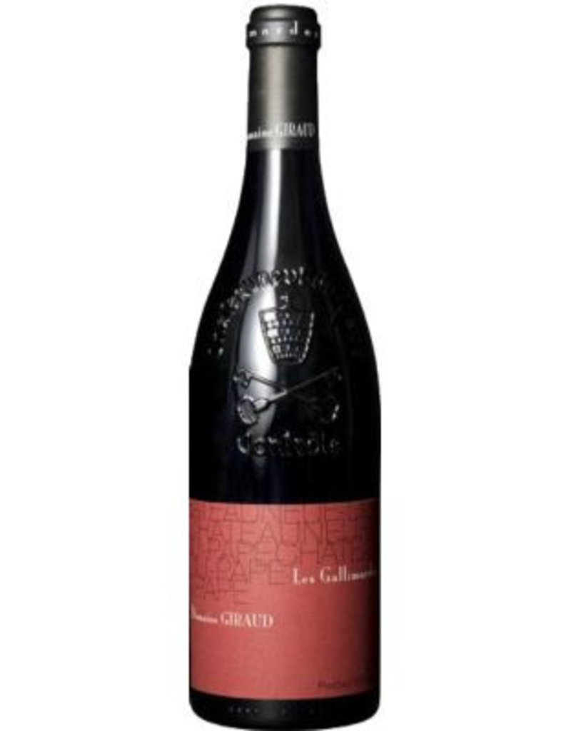Domaine Giraud 2015 Domaine Giraud Chateauneuf du Pape Les Gallimardes Rouge Grenache Blend