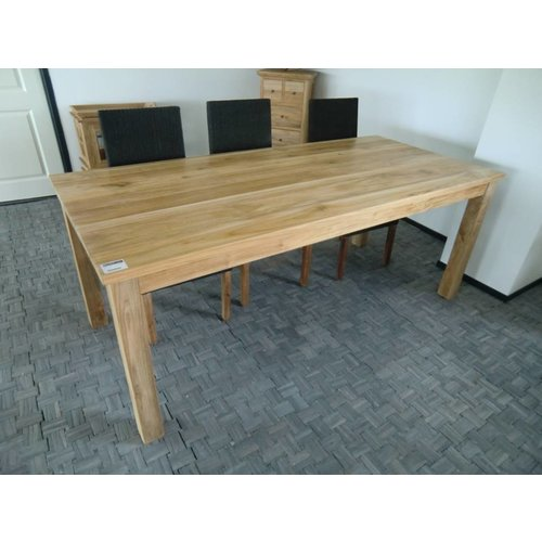 Decomeubel Blokpoot Tafel