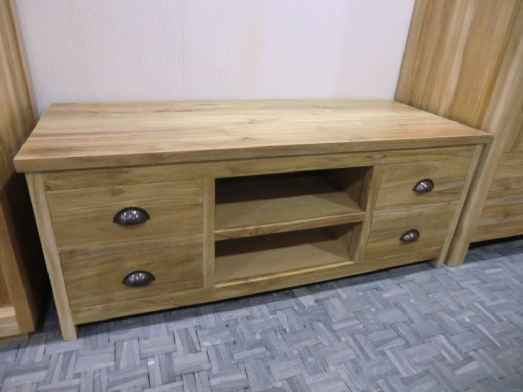 Tv kast 4 lade decomeubel - Console ingang kast lade ...