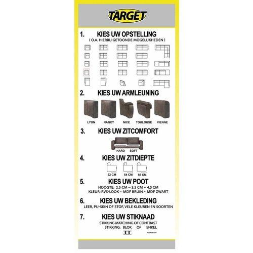 Target Tussenelement 1-zits Flexi