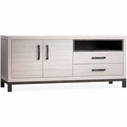 Lamulux Dresser Next 2 doors, 2 drawers, 1 open compartment