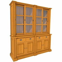 Showcase GEORGE eight doors, 4 drawers