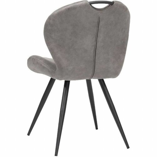 Dining chair Miracle color: Pebble