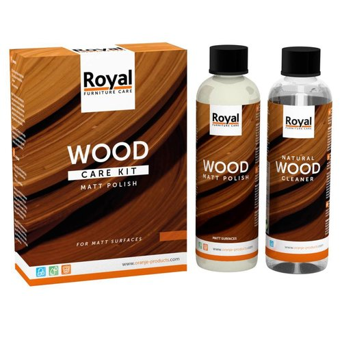 Oranje Furniture care Wood Care Kit Matt Polish