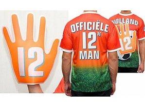 Funny Holland collectie 2017 │ Goedkope oranje Holland T-shirts met zwaaihand kopen?
