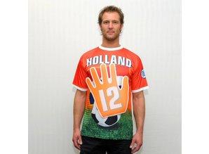 Funny Holland collectie 2018 │ Goedkope oranje Holland T-shirts met zwaaihand kopen?