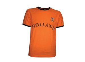 Funny Holland collectie 2018 │ Goedkope oranje Holland gewassen Retro T-shirts kopen?