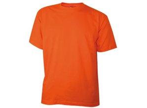 Goedkope oranje T-shirts kopen? Goedkope 100% katoenen T-shirts in de kleur oranje kopen? Bent u op zoek naar goedkope oranje T-shirts in extra grote maten? Deze goedkope oranje T-shirts kunt u per stuk bij ons kopen en direct online bestellen.