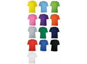 ♣ Goedkope lichtblauwe T-shirts (100% katoen)